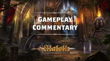 10 минут геймплея Alaloth: Champions of the Four Kingdoms