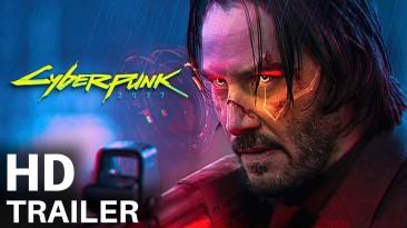 Фанатский трейлер фильма Cyberpunk 2077