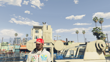 """Grand Theft Auto 5 """"Olympic Wrestling Suit for Trevor"""""""
