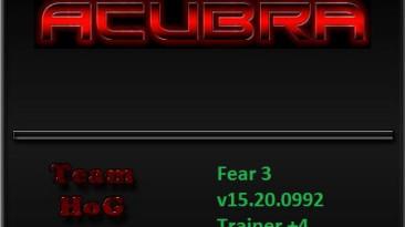 F.E.A.R. 3: Трейнер (+4) [15.20.0992 Prebuild] {HoG}