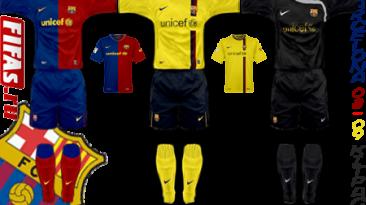 "FIFA 08 ""Barcelona Kitpatch 2008/09"""