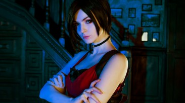 Косплей Ады Вонг из Resident Evil 2