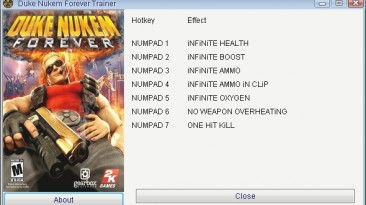 Duke Nukem Forever: Трейнер/Trainer (+7) [Update 1] {GRIZZLY/PlayGround.ru}