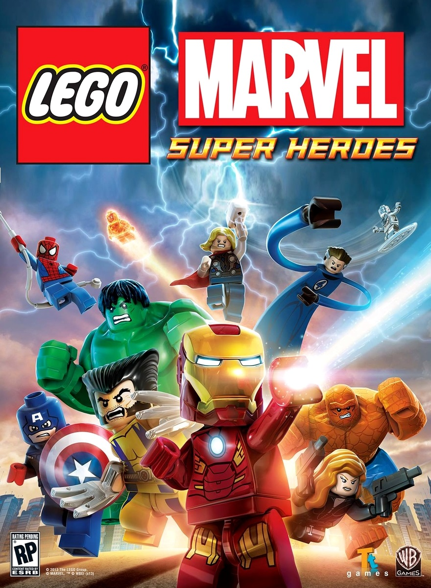 Скачать игру лего марвел супер хироус полная версия