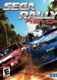 Обложка игры SEGA Rally