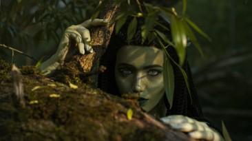 Косплей дриады Моренн из The Witcher