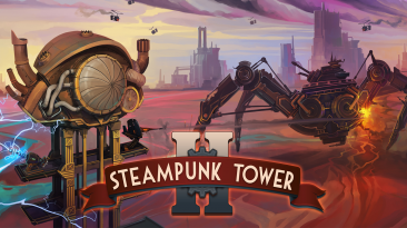 Состоялся консольный релиз Steampunk Tower 2