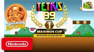 В игре Tetris 99 решили отметить юбилей водопроводчика Марио