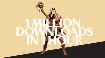 За час Total War Saga: Troy скачали 1 млн. раз