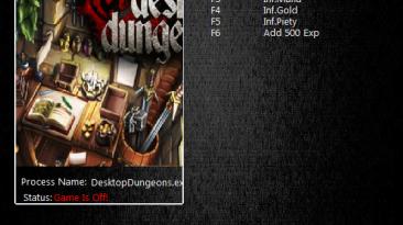 Desktop Dungeons: Трейнер/Trainer (+5) [06012015] {MrAntiFun}