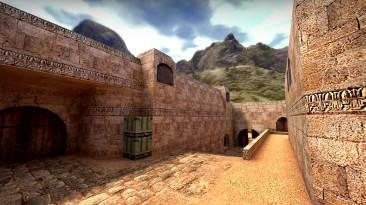 Графическое улучшение карты de_dust 2 из Counter-Strike