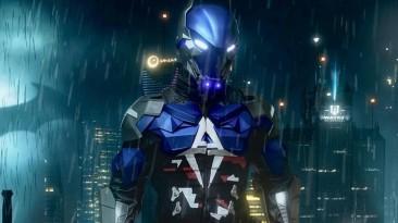 Косплей Рыцаря Аркхэма из Batman: Arkham Knight