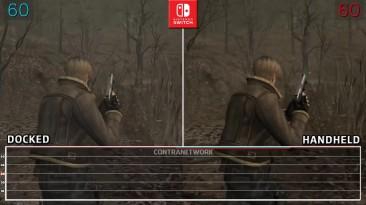 Resident Evil 4 - Производительность на Switch в стационарном и портативном режимах