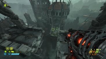 "Doom Eternal ""Прыжки на ракетах"""