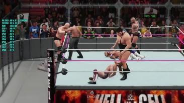 WWE 2K18 : Benchmark R9 280X FX 8350 Тест производительности