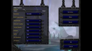 Blizzard тестирует обновление для Warcraft III с поддержкой широкоформатных экранов