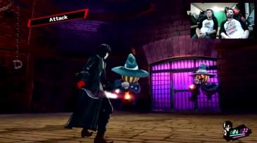 AngryJoe играет Persona 5!