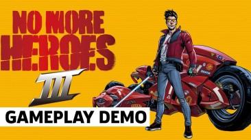Полноценная демонстрация геймплея No More Heroes 3 с презентации Nintendo E3 2021