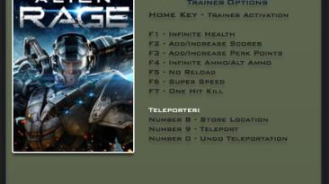 Alien Rage: Трейнер/Trainer (+9) [1.0] {LinGon}
