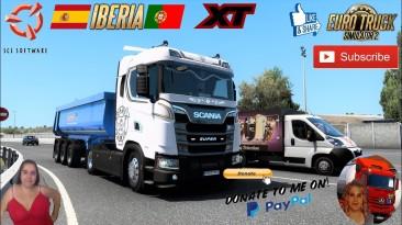 """Euro Truck Simulator 2 """"Тюнинг NG Scania R /S v 1.0 (1.40.x)"""""""