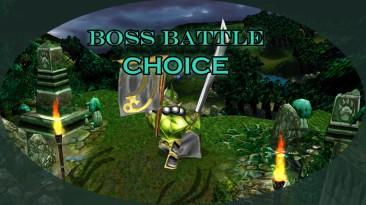 """Warcraft 3 """"Boss Battle: Choice"""""""