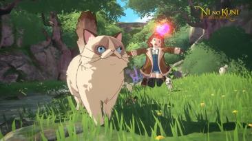 Новые трейлеры Ni no Kuni: Cross Worlds с изображением гигантских кошек и не только