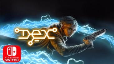 Dex - киберпанк платформер анонсирован для Nintendo Switch