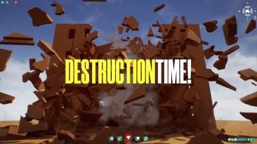 Симулятор разрушений Destruction Time! вышел в раннем доступе Steam