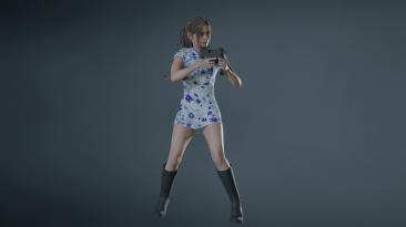 """Resident Evil 2 """"Симатичное китайское платье для Клэр"""""""