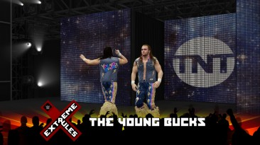 "WWE 2K16 ""AEW The Young Bucks порт мода для 2k19"""