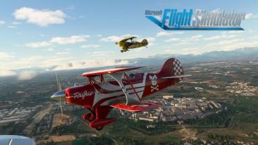 Первый геймплей и новые функции Microsoft Flight Simulator на Xbox Series X | S