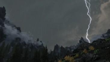 """Elder Scrolls 5: Skyrim """"Молнии во время грозы"""""""