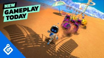 12 минут игрового процесса Astro's Playroom