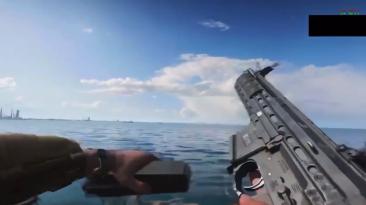 Слито видео со стрельбой из оружия Battlefield 2042 - модели, звуки, анимация