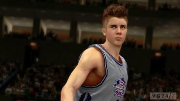Джастин Бибер в NBA2K13 (UPD. Добавлены видео)