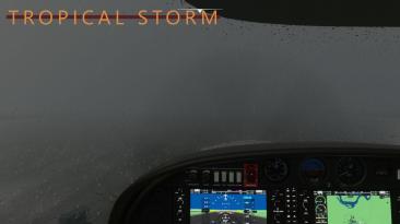 "Microsoft Flight Simulator ""Интересная погода"""