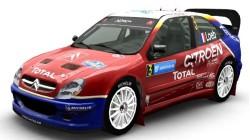"Colin McRae Rally 04 ""Скин: Citroen Xsara WRC Team Total (2005)"""
