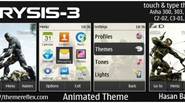 "Crysis 3 ""Тема для Nokia 202,300,303,c2-02,c2-03,c2-06,x3-02"""