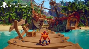 Геймплейные ролики Crash Bandicoot 4: It's About Time с PS5 и Switch