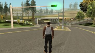 """Grand Theft Auto: San Andreas """"Показатель FPS"""""""