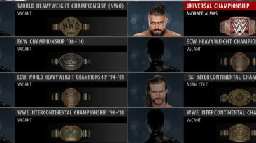 "WWE 2K16 ""Пак Championship v1"""