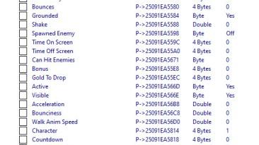Battle Axe: Таблица для Cheat Engine [UPD: 29.04.2021] {ndck76}