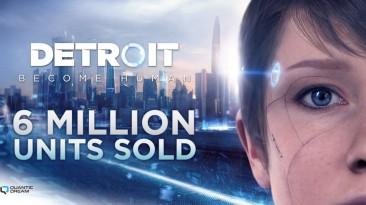 Общий тираж Detroit: Become Human превысил 6 млн копий