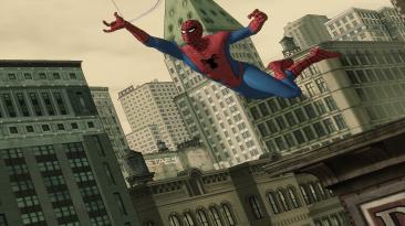 "Spider-Man: Shattered Dimensions ""Костюм Паука из мультфильма 60-ых """