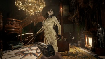 Леди Димитреску из Resident Evil: Village будет преследовать игрока, как мистер Икс в RE2 Remake