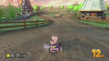 За гранью зримого Mario Kart 8...