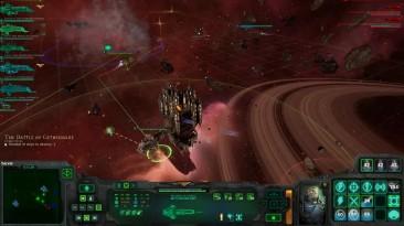 Battlefleet Gothic Armada прохождение на русском The Battle of Gethsemane глава 4 - Ч11 обзор