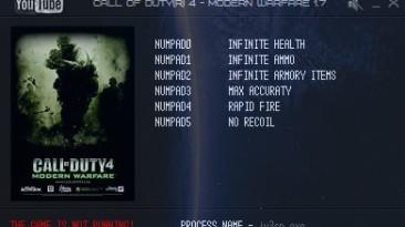 Call of Duty 4: Modern Warfare: Трейнер/Trainer (+6) [1.7] {LIRW / GHL}