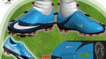 "PES 2009 ""Nike MV SuperFly OrionBlue-DarkObsidian by el_gordito"""