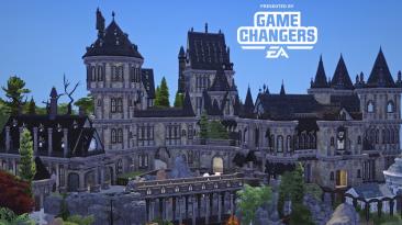 "The Sims 4 ""Базовое 64x64 - Хогвартс"""